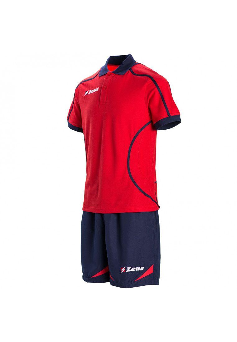 Тенниска (+ шорты) Zeus KIT RELAX FAUNO BL/RE Z00771
