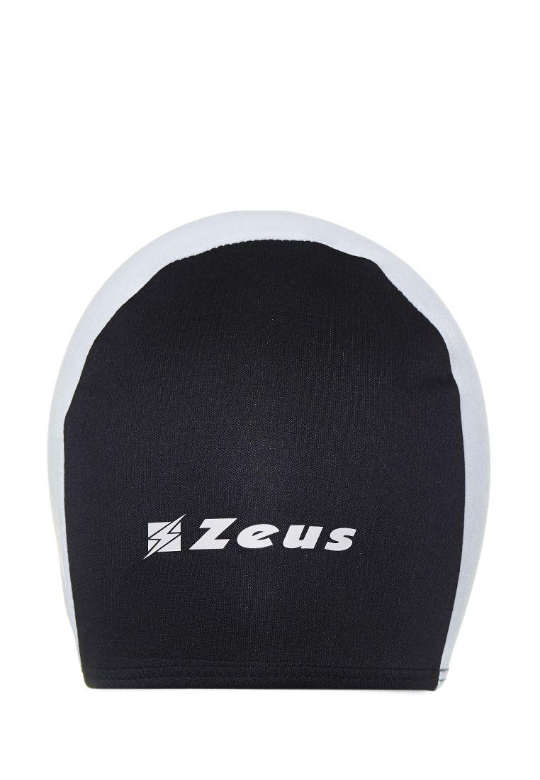 Шапочка для плавания Zeus CUFFIA NUOTO EKO NE/BI Z00824