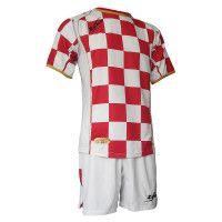Футбольная форма (шорты, футболка) Zeus KIT KROAZIA-OLD BI/RE Z00828