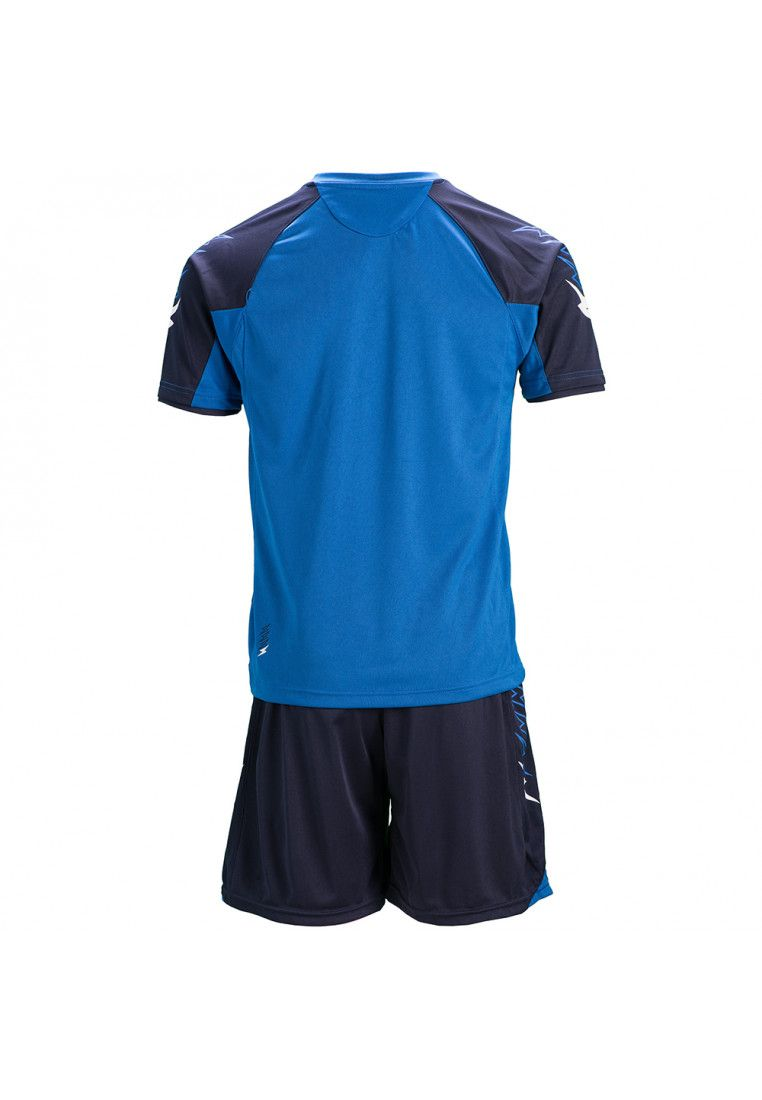 Футбольная форма (шорты, футболка) Zeus KIT CALCIO ULYSSE M/C BL/RO Z00851