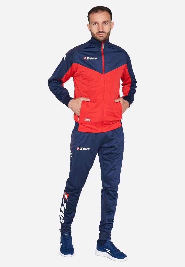 Спортивный костюм Zeus TUTA RELAX ULYSSE BL/RE Z00856