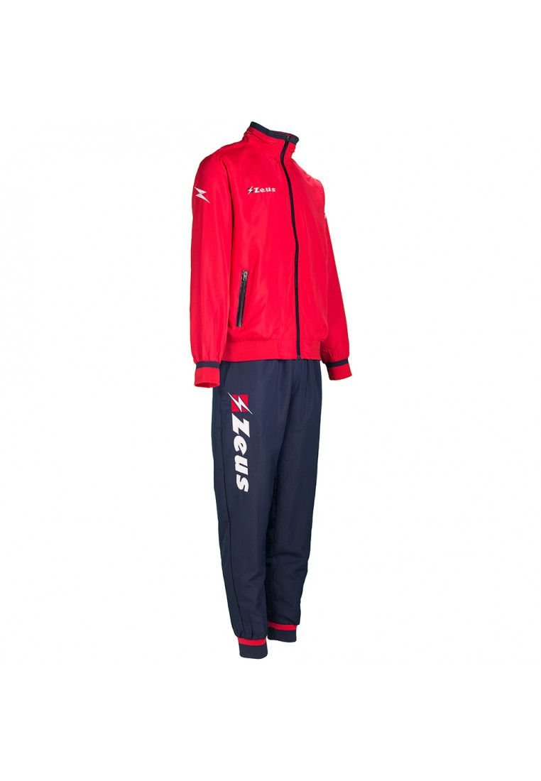 Спортивный костюм Zeus TUTA RELAX CROTONE RE/BL Z00863