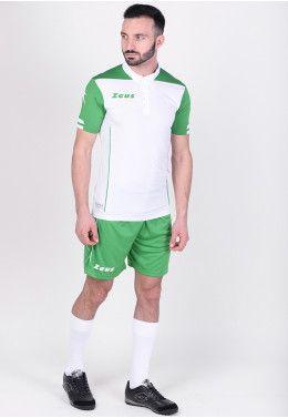 Футбольная форма (шорты, футболка) Zeus KIT AQUARIUS VE/BI Z00870