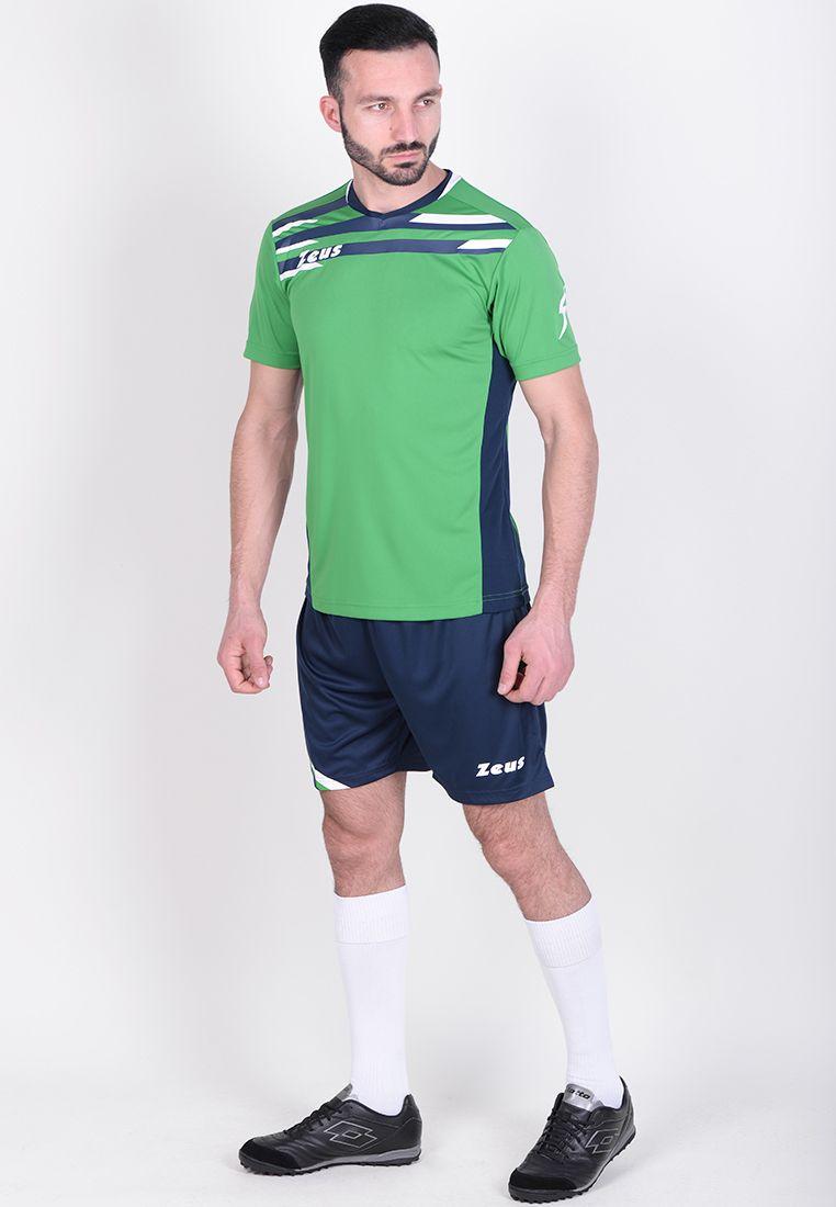 Футбольная форма (шорты, футболка) Zeus KIT ITACA UOMO VE/BL Z00902