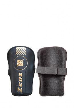 Гетры Zeus CALZA PARMA NE/GI Z00514 Щитки футбольные Zeus PARASTINCHI FLASH SENZA CAVIGLIERA Z00905