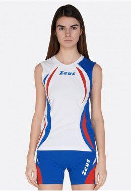 Волейбольная форма (шорты, футболка) Zeus KIT LYBRA DONNA RE/NE Z01021 Волейбольная форма (шорты, футболка) Zeus KIT KLIMA BI/RO Z00912
