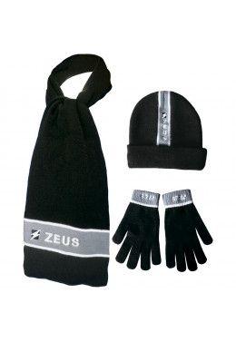 Набор (шапка, шарф, перчатки) Zeus TRIS WINTER BL/RO Z00953 Набор (шапка, шарф, перчатки) Zeus TRIS WINTER NE/GG Z00954