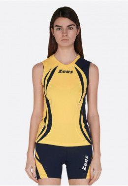 Волейбольная форма (шорты, футболка) Zeus KIT LYBRA DONNA BL/LR Z00968 Волейбольная форма (шорты, футболка) Zeus KIT KLIMA GI/BL Z00982