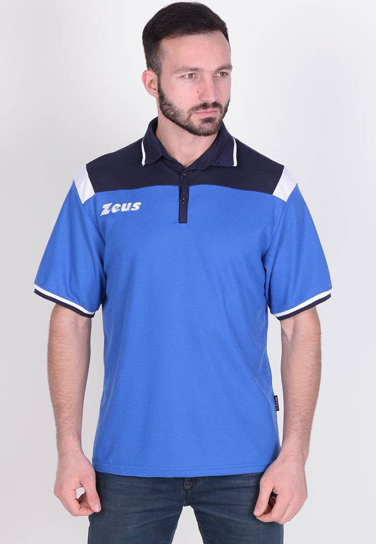 Тенниска Zeus POLO VESUVIO BL/RO Z00998