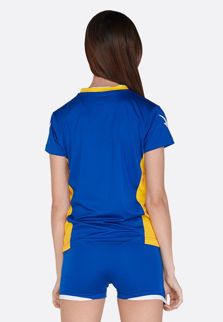 Волейбольная форма (шорты, футболка) Zeus KIT ITACA DONNA RO/GI Z01002
