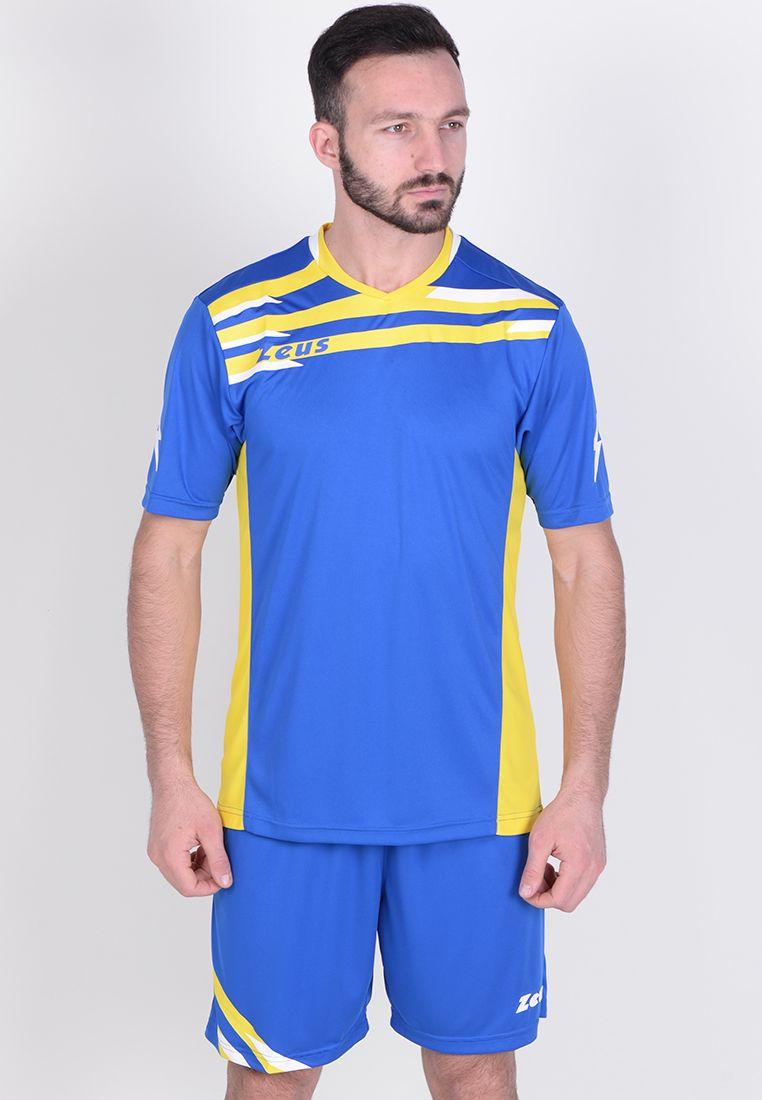 Футбольная форма (шорты, футболка) Zeus KIT ITACA UOMO RO/GI Z01003