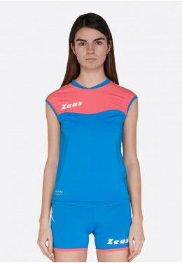 Волейбольная форма (шорты, футболка) Zeus KIT LYBRA DONNA FX/BL Z00509 Волейбольная форма (шорты, футболка) Zeus KIT SARA LR/PF Z01005