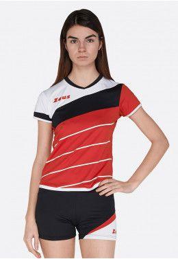 Волейбольная форма (шорты, футболка) Zeus KIT LYBRA DONNA FX/BL Z00509 Волейбольная форма (шорты, футболка) Zeus KIT LYBRA DONNA RE/NE Z01021