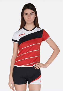Волейбольная форма (шорты, футболка) Zeus KIT KLIMA BI/BL Z00689 Волейбольная форма (шорты, футболка) Zeus KIT LYBRA DONNA RE/NE Z01021