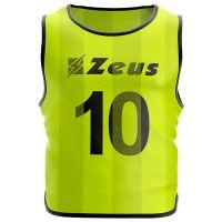 Манишка футбольная (10 шт.) Zeus CASACCA NUMERATA GIAFL Z01024