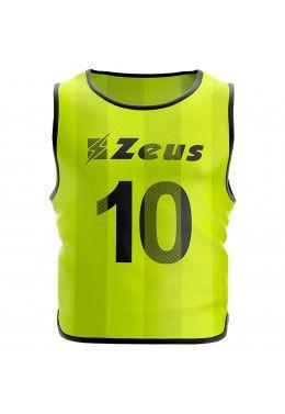 Манишка футбольная Zeus CASACCA PROMO ARANC Z00092 Манишка футбольная (10 шт.) Zeus CASACCA NUMERATA GIAFL Z01024