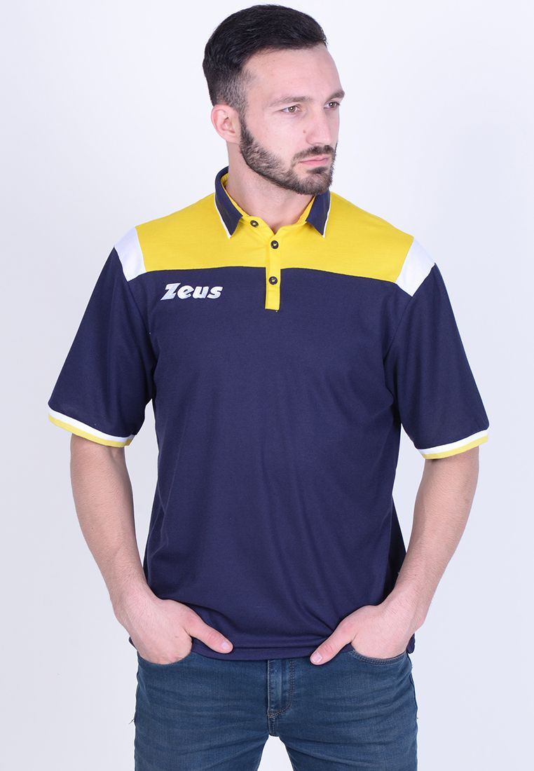 Тенниска Zeus POLO VESUVIO BL/GI Z01065