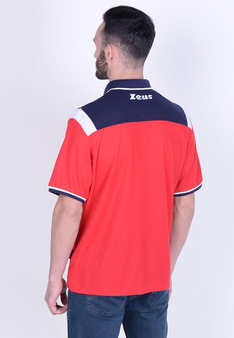 Тенниска Zeus POLO VESUVIO BL/RE Z01066