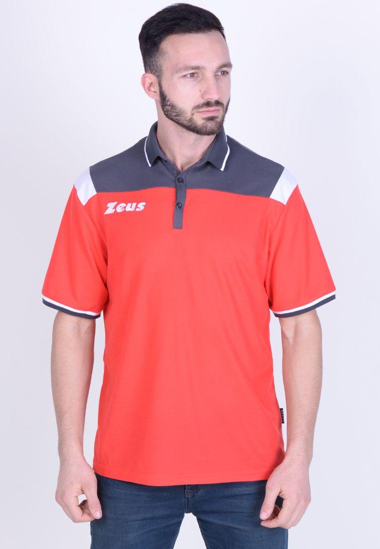 Тенниска Zeus POLO VESUVIO RE/DG Z01067