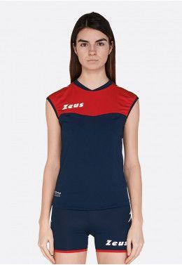 Волейбольная форма (шорты, футболка) Zeus KIT LYBRA DONNA VE/NE Z01022 Волейбольная форма (шорты, футболка) Zeus KIT SARA BL/RE Z01076
