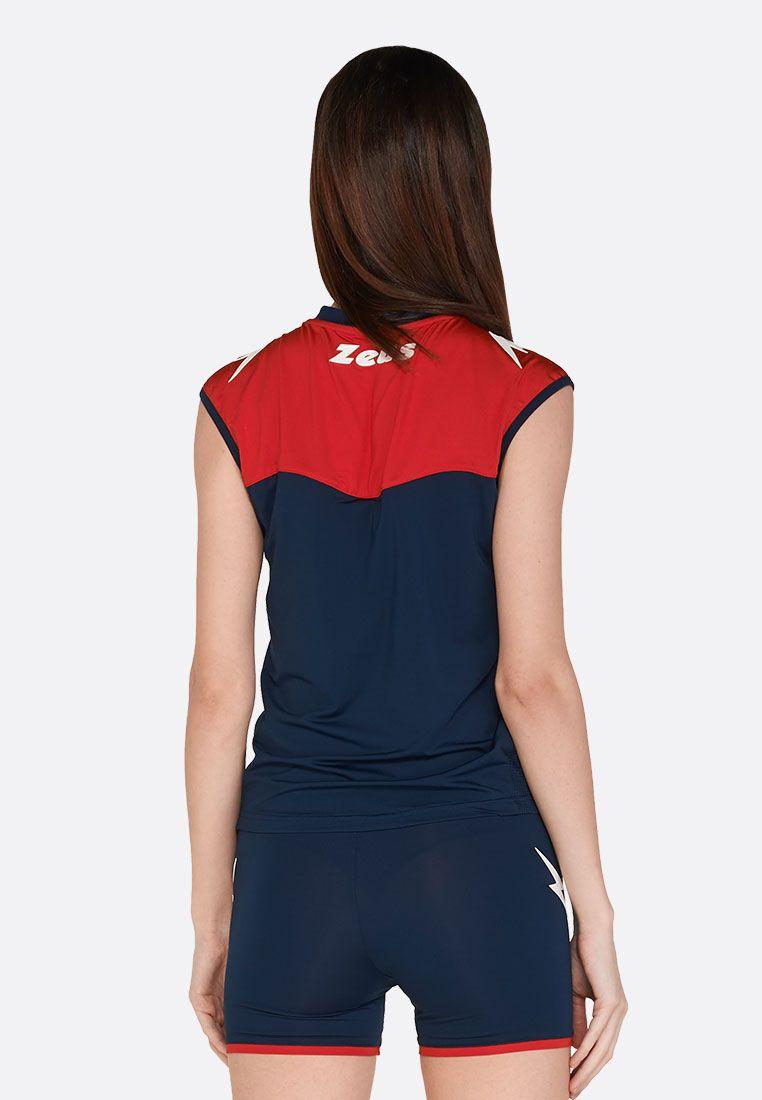 Волейбольная форма (шорты, футболка) Zeus KIT SARA BL/RE Z01076