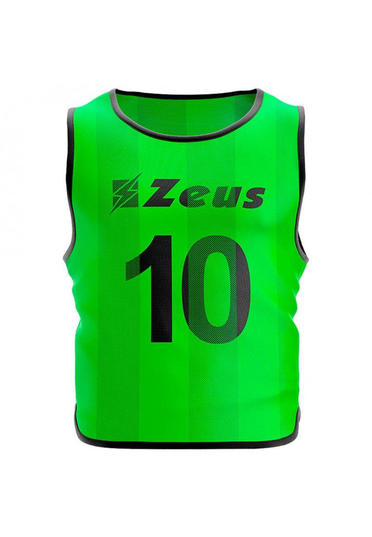 Манишка футбольная (10 шт.) Zeus CASACCA NUMERATA VERFL Z01107