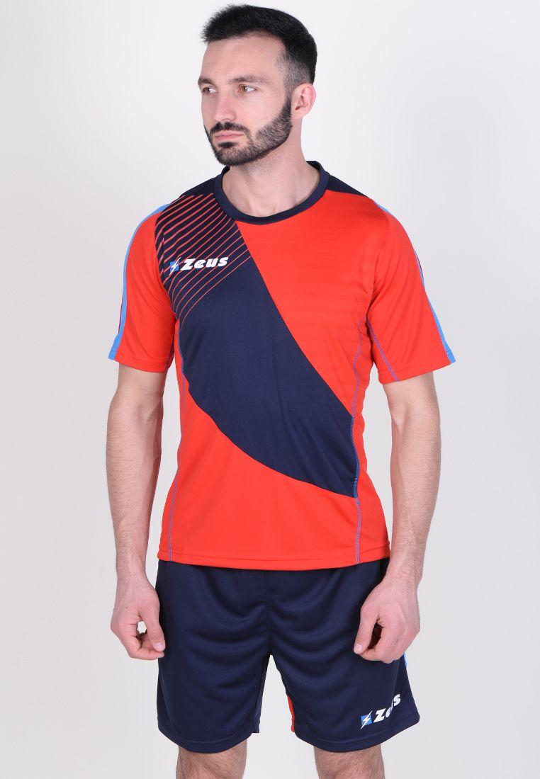 Футбольная форма (шорты, футболка) Zeus KIT ALEX RE/BL Z01117