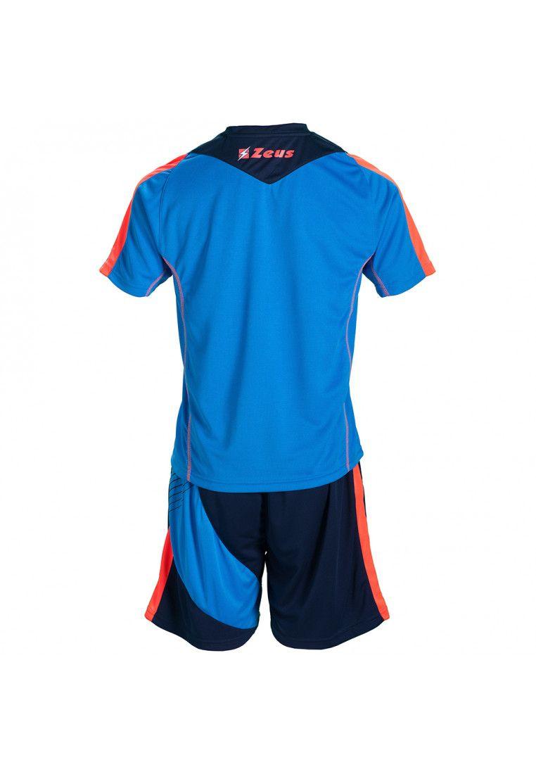 Футбольная форма (шорты, футболка) Zeus KIT ALEX RO/BL Z01118
