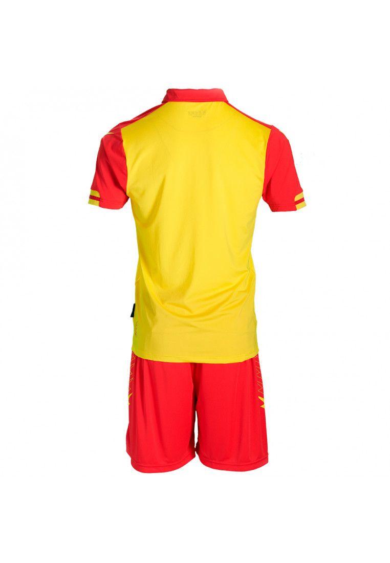 Футбольная форма (шорты, футболка) Zeus KIT AQUARIUS GI/RE Z01119
