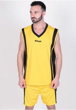 Баскетбольная форма Zeus KIT DOBLO BL/GI Z00682 Баскетбольная форма Zeus KIT BOZO GI/NE Z01121