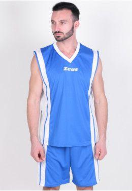 Баскетбольная форма Zeus KIT DOBLO BL/GI Z00682 Баскетбольная форма Zeus KIT BOZO RO/BI Z01123