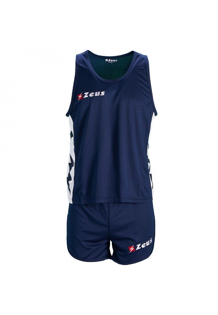 Майка для бега (+ шорты) Zeus KIT RUNNER BL/BI Z01130