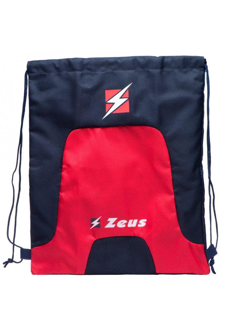 Спортивный рюкзак мешок Zeus ZAINO TIGER BL/RE Z01150