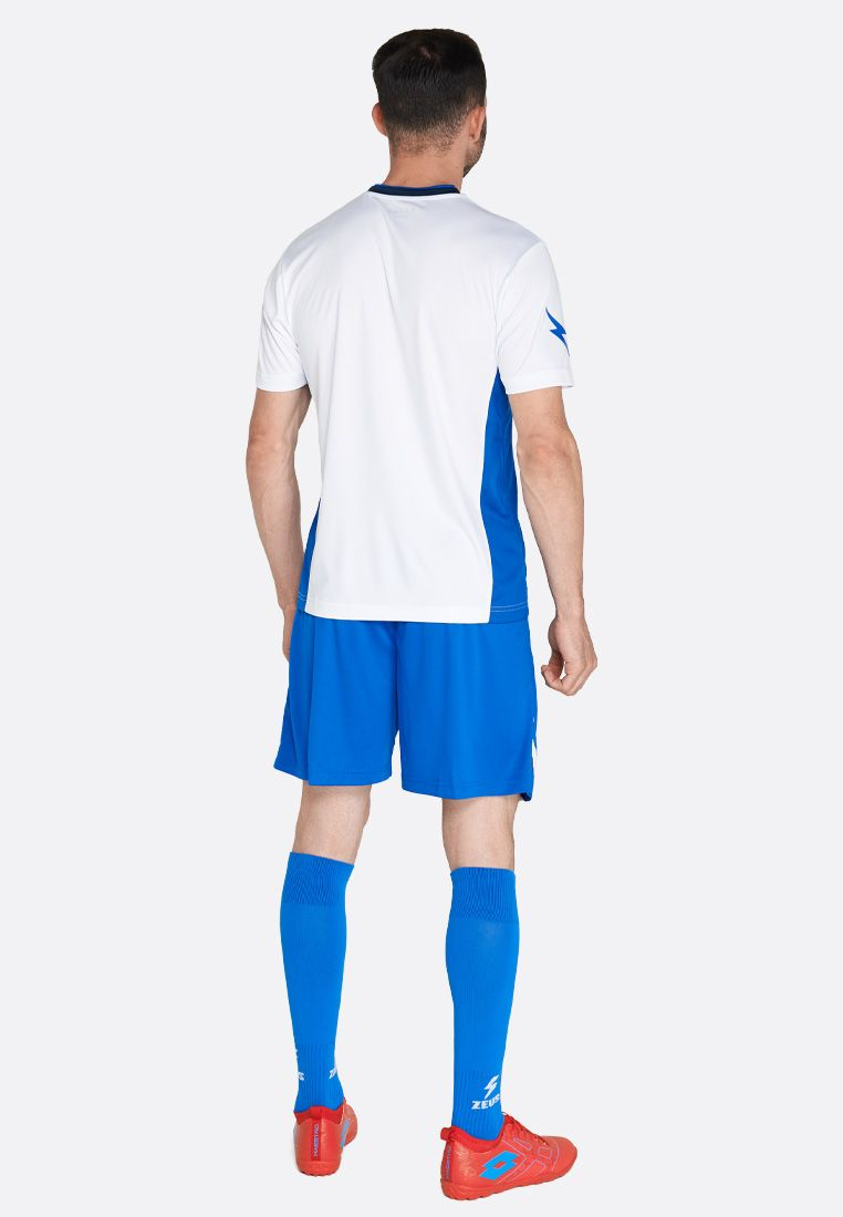 Футбольная форма (шорты, футболка) Zeus KIT ITACA UOMO RO/BL Z01189