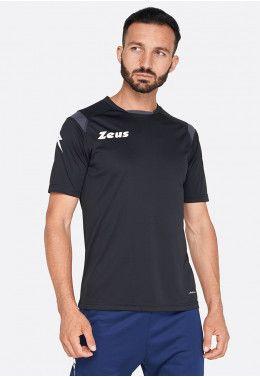 Футболка для бега (длинный рукав) Zeus MAGLIA ATLANTE M/L RO/GF Z00731 Футболка Zeus MAGLIA MC MONOLITH NERO Z01193
