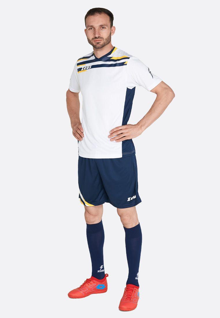 Футбольная форма (шорты, футболка) Zeus KIT ITACA UOMO BI/BL Z01231