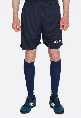Футбольная форма (шорты, футболка) Zeus KIT LYBRA UOMO BL/LR Z00234 Шорты футбольные Zeus SHORT MIDA BLU Z01242