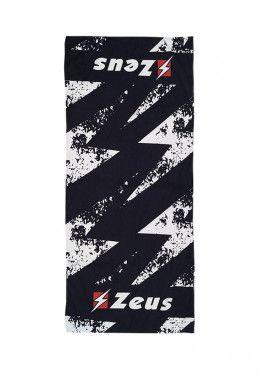 Лапы боксерские Zeus GUANTI BOXE MAESTRO NERO Z00916 Полотенце Zeus TELO BEACH BLU Z01266