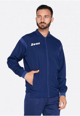 Спортивная кофта Zeus FELPA TRAIN MONOLITH ROSSO Z01327 Спортивная кофта Zeus GIACCA MICRO MONOLITH BLU Z01277