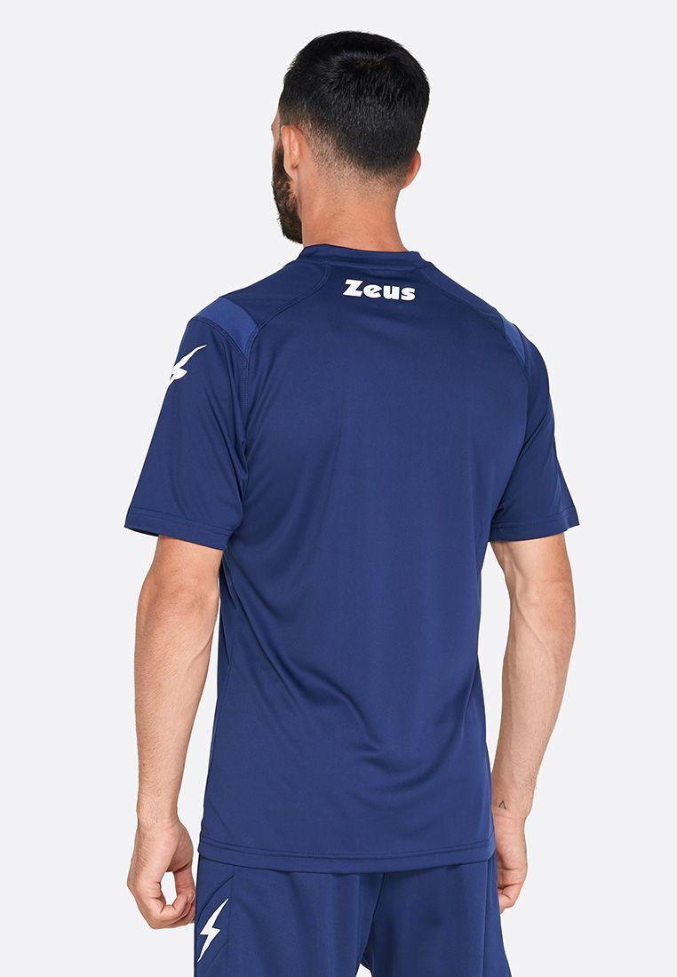 Футболка футбольная Zeus MAGLIA MC MONOLITH BLU Z01284