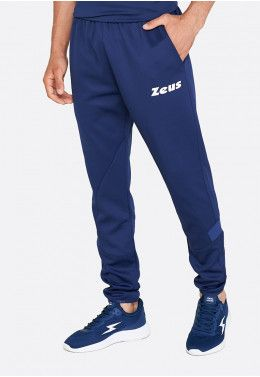 Спортивный костюм Zeus TUTA TRAINING VESUVIO BL/RE Z00471 Спортивные штаны Zeus PANT RELAX MONOLITH BLU Z01298