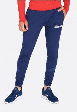 Спортивный костюм Zeus TUTA TRAINING ULYSSE BL/RE Z00468 Спортивные штаны Zeus PANT TRAIN MONOLITH BLU Z01299