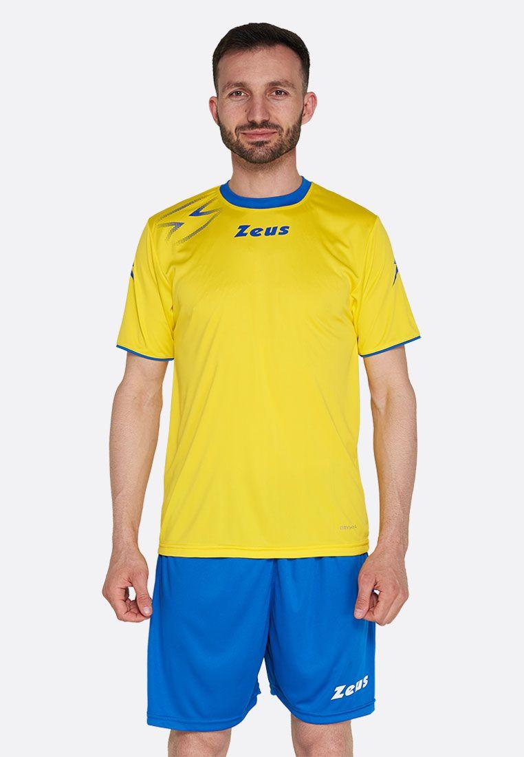 Футболка футбольная Zeus SHIRT MIDA GI/RO Z01306