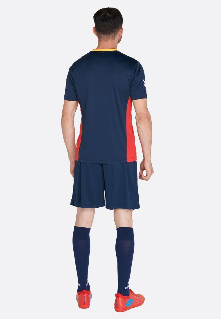 Футбольная форма (шорты, футболка) Zeus KIT ITACA UOMO RE/BL Z01343