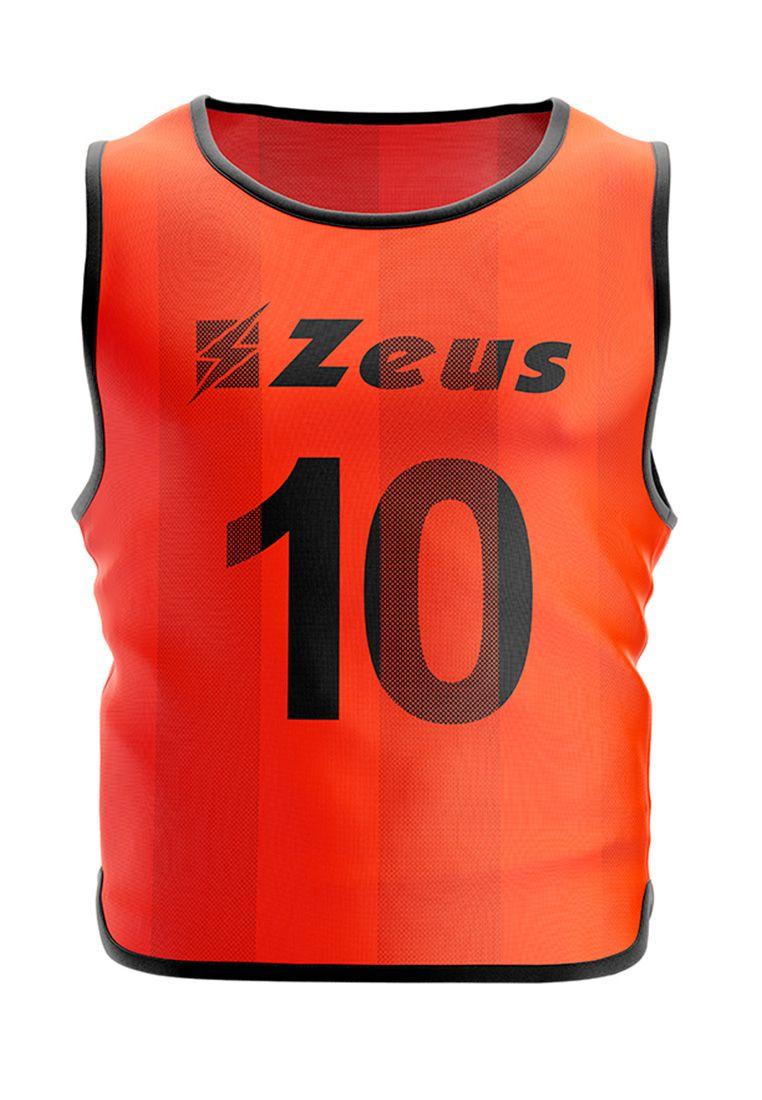 Манишка футбольная (10 шт.) Zeus CASACCA NUMERATA ARFLU Z01361