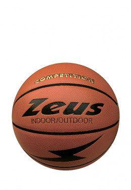 Мяч баскетбольный Zeus PALLONE BASKET GOMMA 5 Z00329 Мяч баскетбольный Zeus PALLONE BASKET COMPETITION PU Z01365