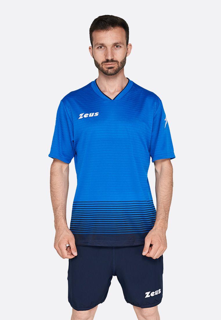 Футбольная форма (шорты, футболка) Zeus KIT ORION RO/BL Z01382