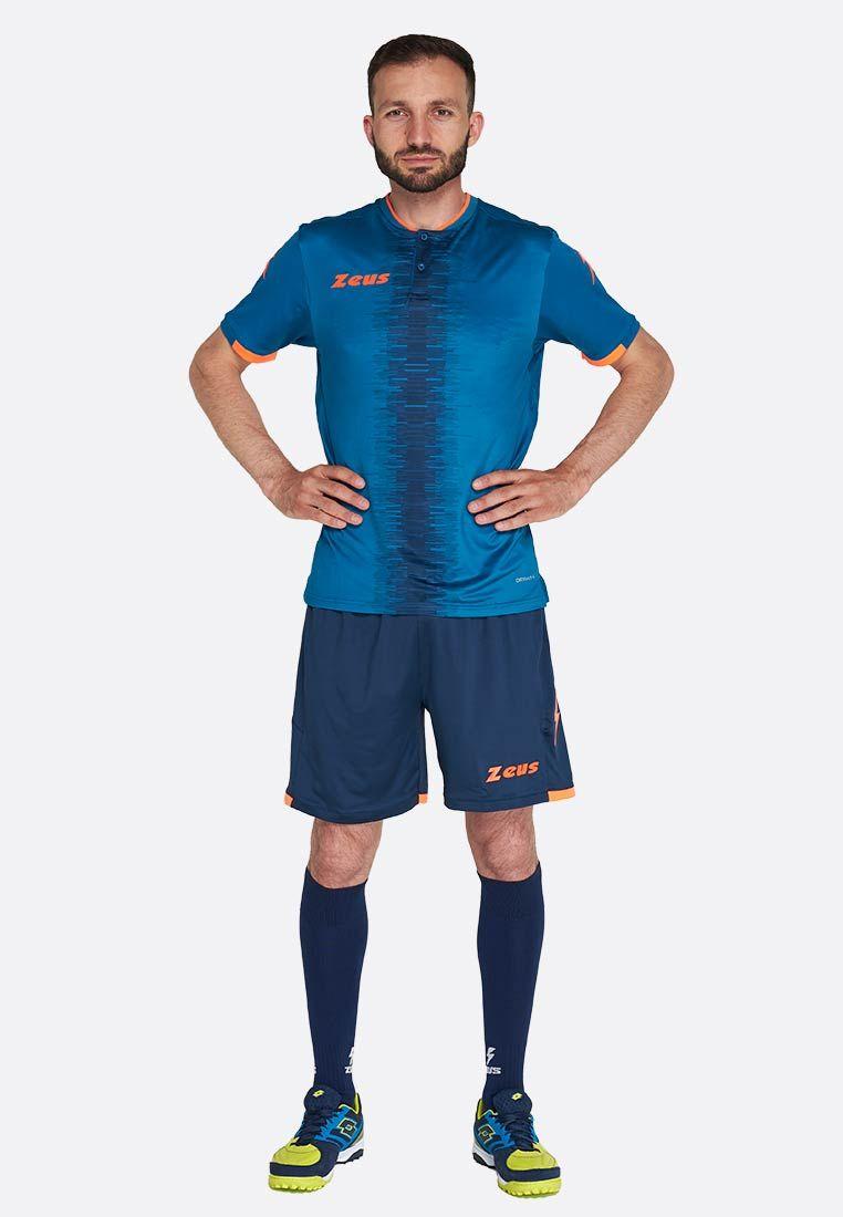 Футбольная форма (шорты, футболка) Zeus KIT PERSEO BL/PT Z01522