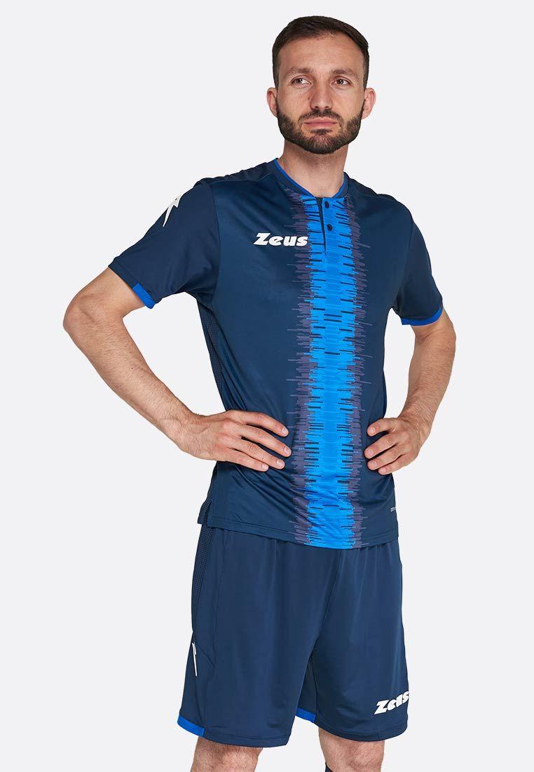 Футбольная форма (шорты, футболка) Zeus KIT PERSEO BL/RO Z01523