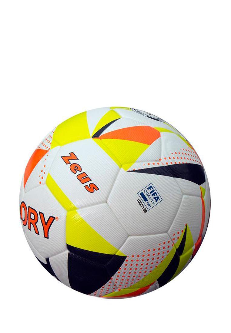 Мяч футбольный Zeus PALLONE GLORY FIFA APPROVED BIANC 5 Z01528